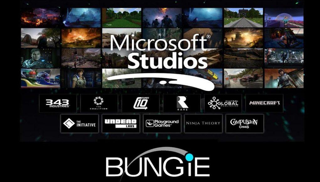 Microsoft purchasing bungie
